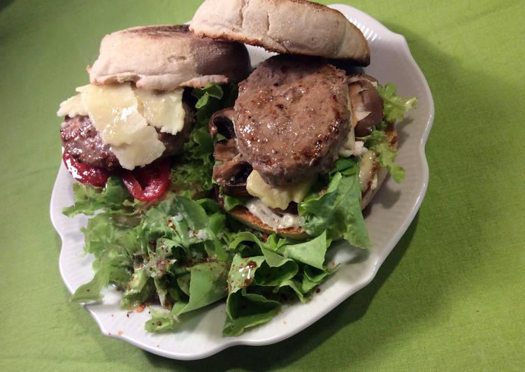 Comment Servir Burger de veau au sheddar