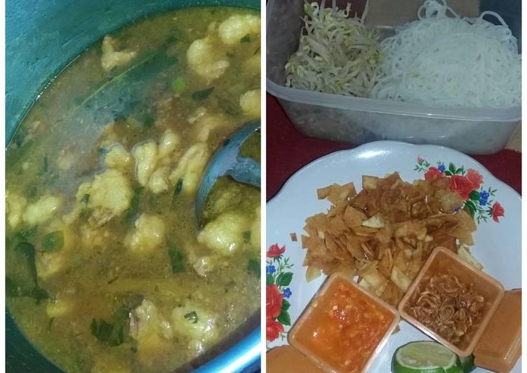 "Soto Daging plus lemak"" #Resep Ramadhan"