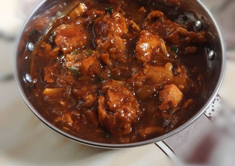 Yogurt Red Chicken masala Gravy