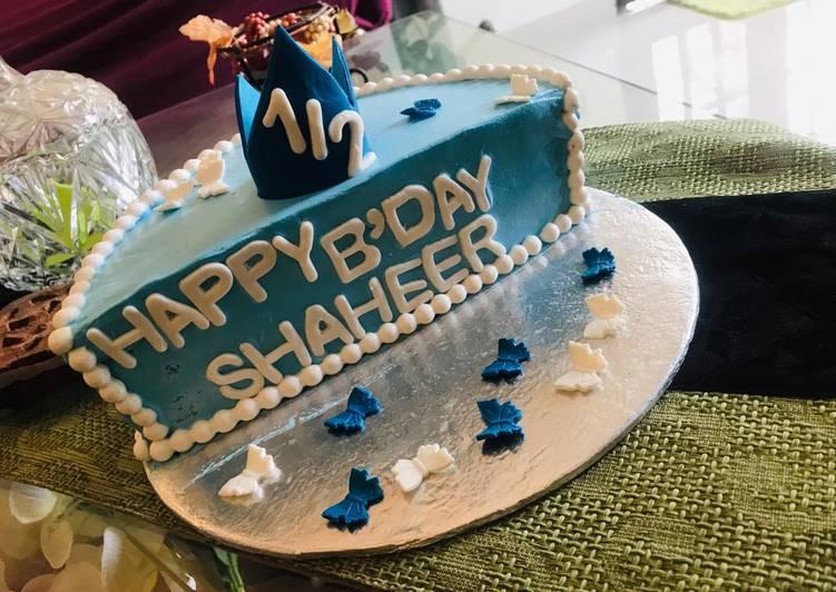 Birthday cake(6 months)