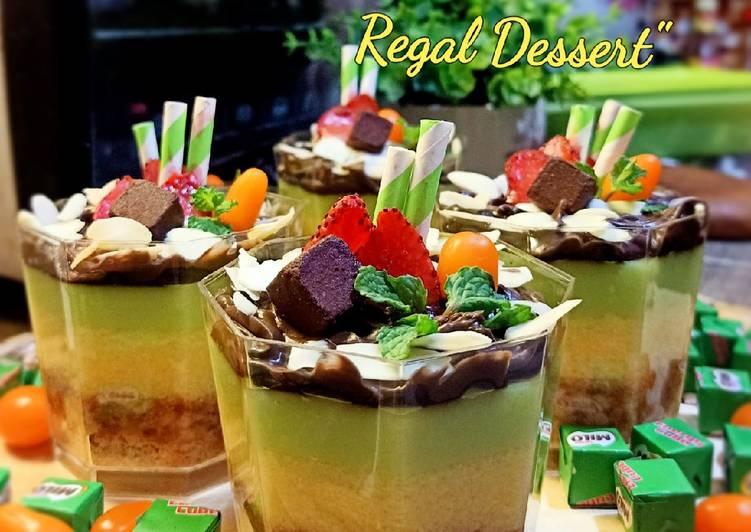 Resep Avocado Milo Regal Dessert