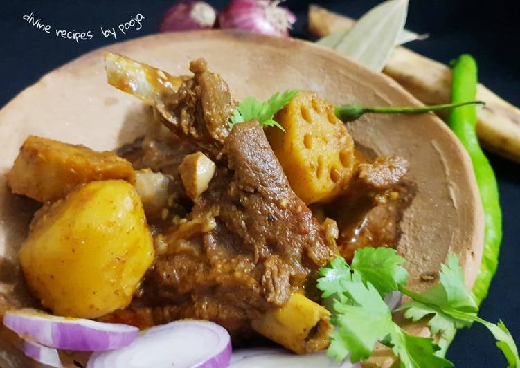 15 Minute Step-by-Step Guide to Make Fall Lotus stem mutton