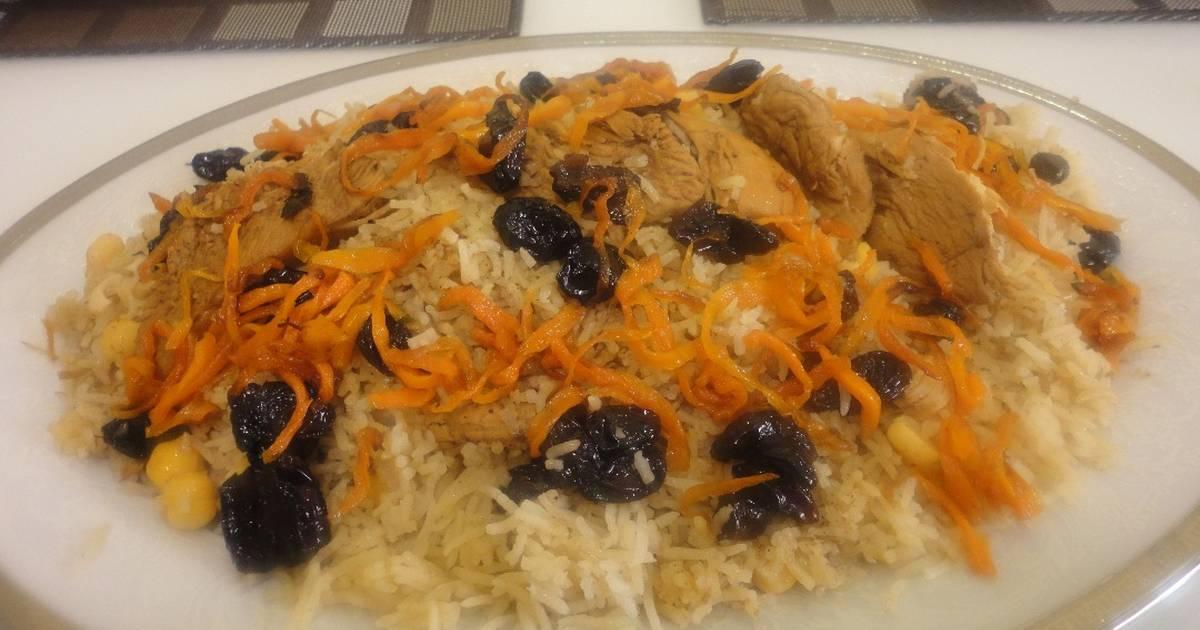 الأرز الكابلي الأفغاني من مطبخ ماجد بالصور من ماجد سعيد كوكباد