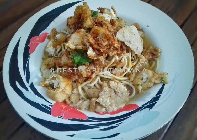 Resep Mie Kopyok Semarang Yang Simple Lezat