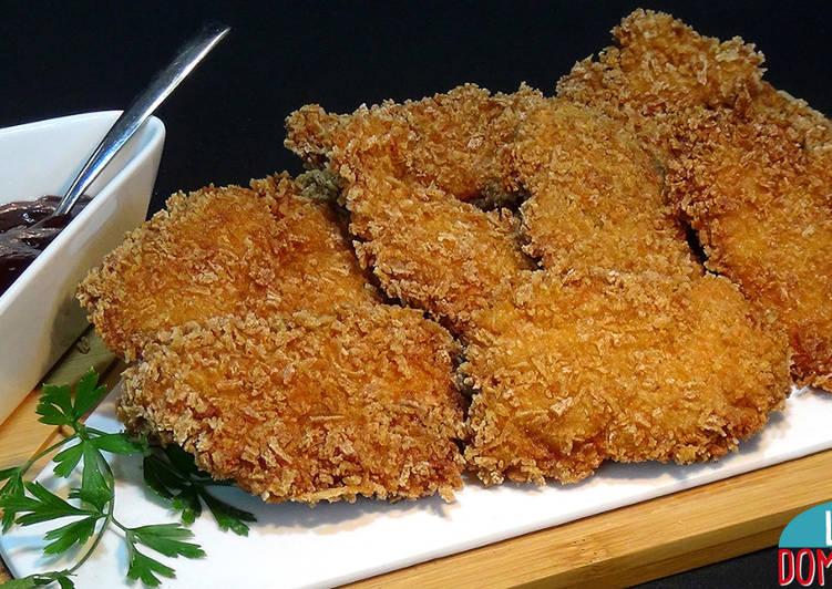 Pollo Frito Súper Crujiente Receta De Lolidominguezjimenez Cookpad