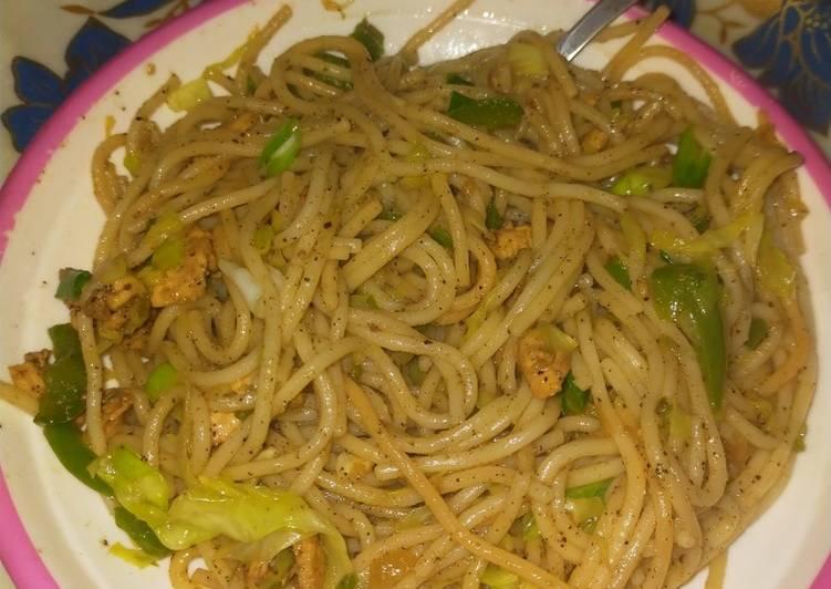 5 Minute How to Prepare Love Green vegetable spegati
