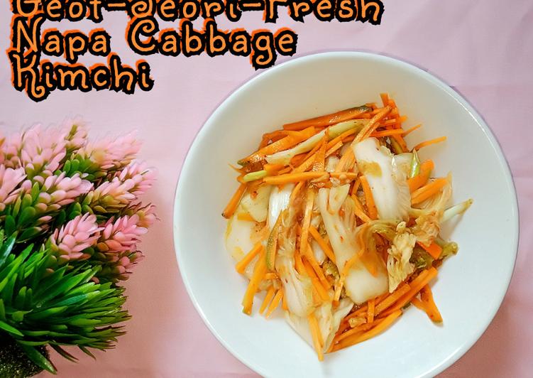 Geot-Jeori--Fresh Napa Cabbage Kimchi