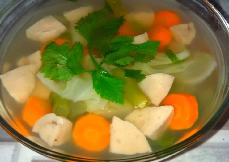 Soup Racik Bakso Sapi Ala dapur Ening