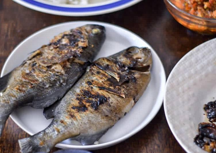 Ikan Karang Panggang Teplon