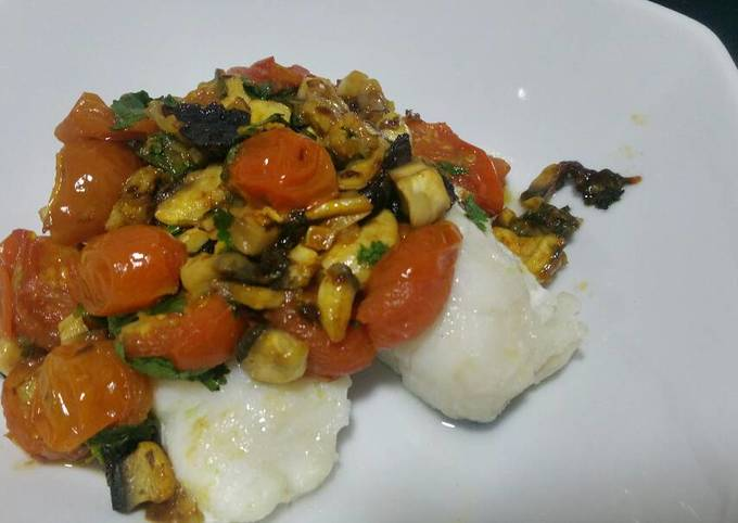 Solo cooking: Tasty fish fillets
