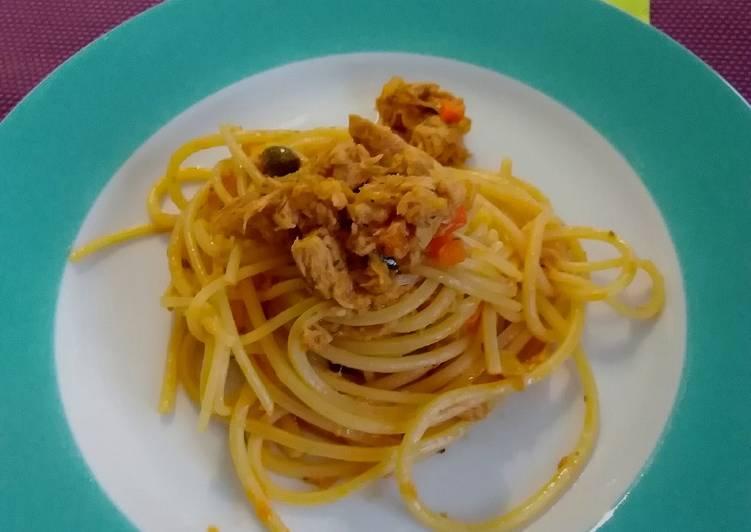 Spaghetto al tonno... a modo mio