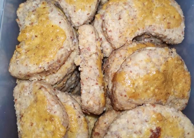 Resep Kue kering kacang / roti kacang super simple yang Enak Banget
