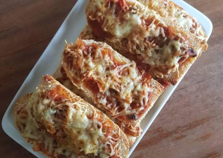 Pizza express façon bruschetta 🍕