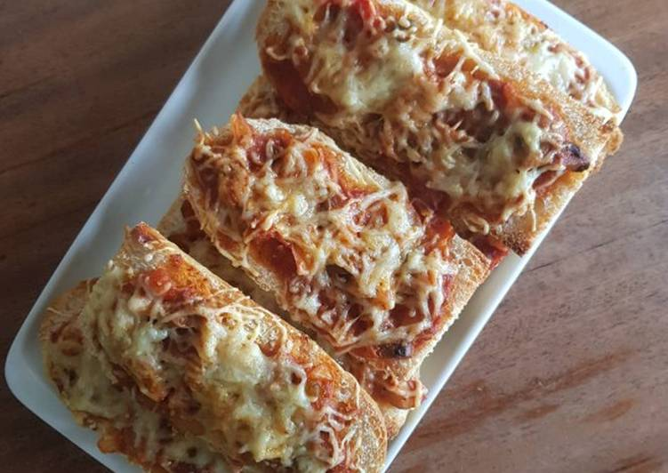 Pizza express façon bruschetta ?