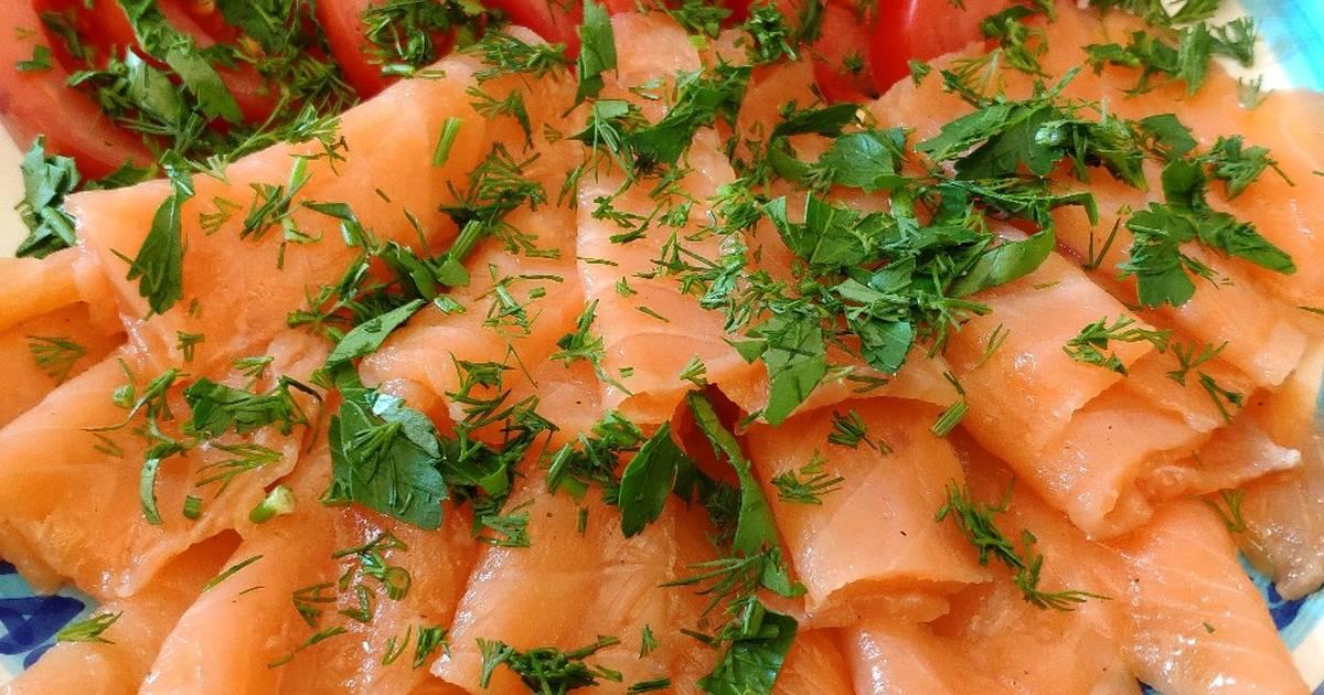 блюда из соленой семги рецепты с фото анатольевич