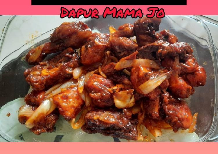 Bagaimana Membuat Ayam Goreng Mentega ala Resto 🍽, Enak Banget