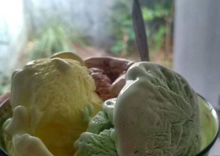 Ice cream home made ~ anti gagal