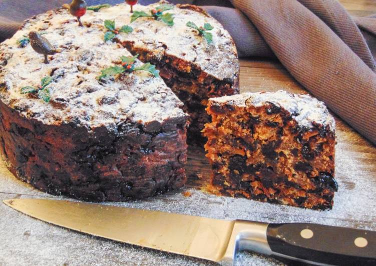 Natural Christmas Cake (Refined Carb-Free)