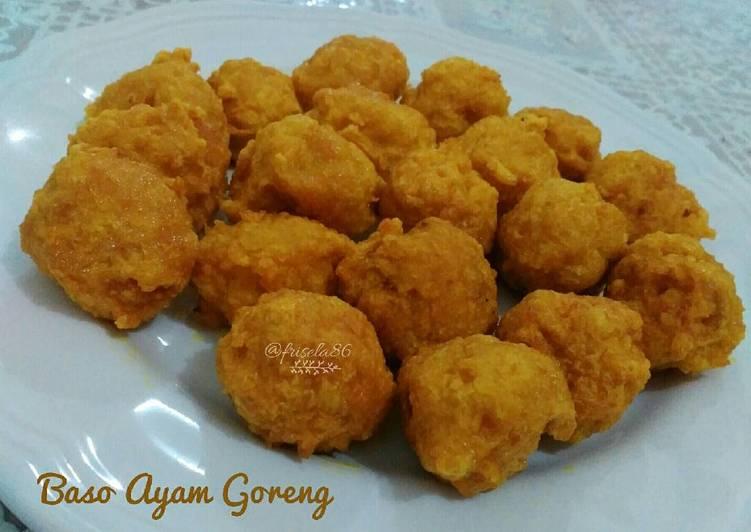 Baso Ayam Goreng