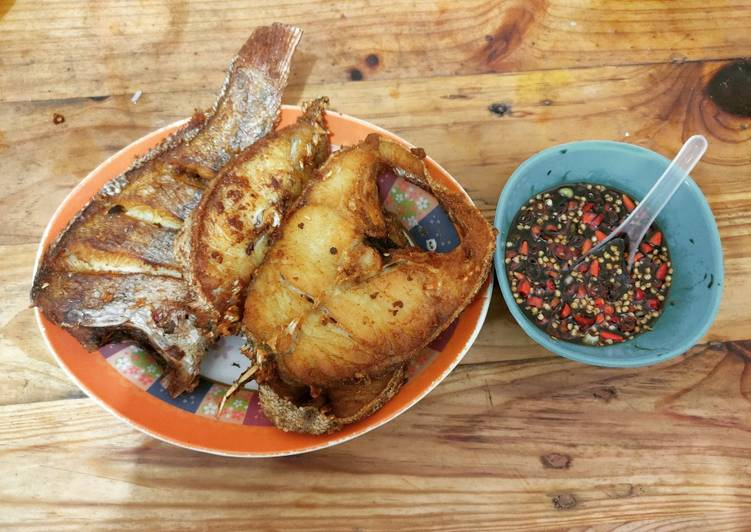 Ikan goreng marinasi ala chef Rudy Choirudin