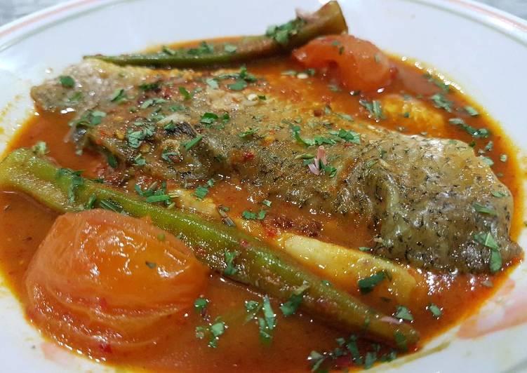 Fish in Spicy Tamarind Sauce (Asam Pedas)