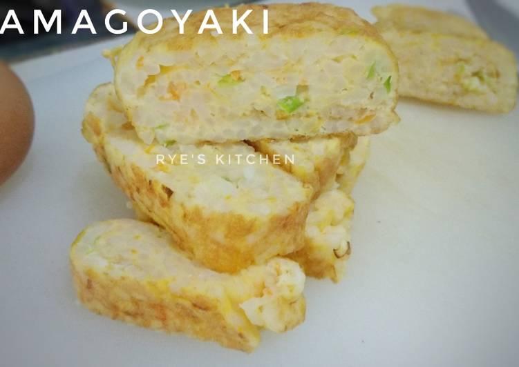 Tamagoyaki untuk MPASI anak 12m+