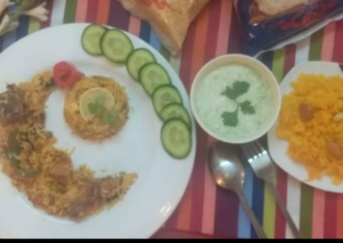 Masaledar biryani 😋 #kokaband cookpad