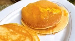Hình ảnh món Bánh nướng chảo pancake siêu dễ (không cần lò nướng, không máy đánh trứng, không phới)
