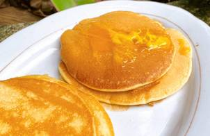 Bánh nướng chảo pancake siêu dễ (không cần lò nướng, không máy đánh trứng, không phới)