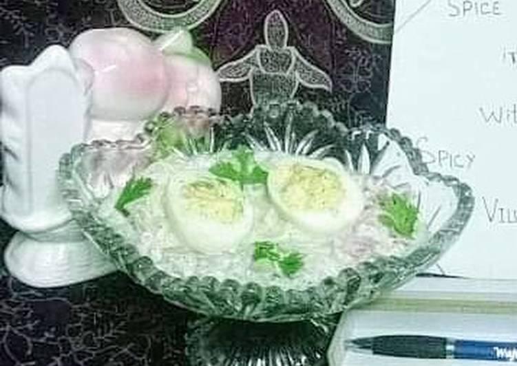 Recipe of Award-winning Egg Yogurt Salad
