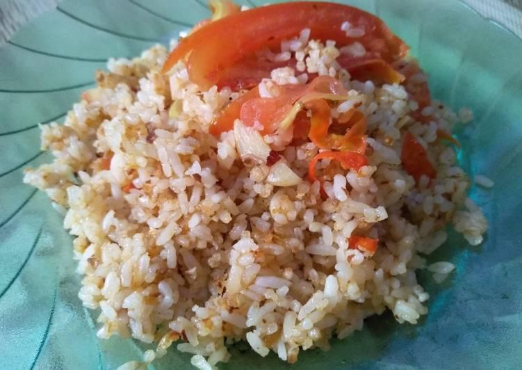 Nasi Goreng Tomat Bumbu Iris
