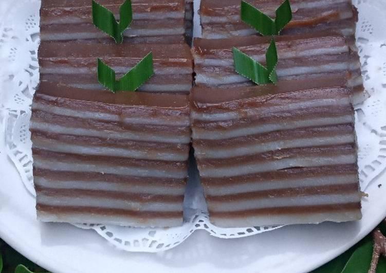Cara Termudah Untuk Memasak Berselera Kue Lapis Tepung Beras