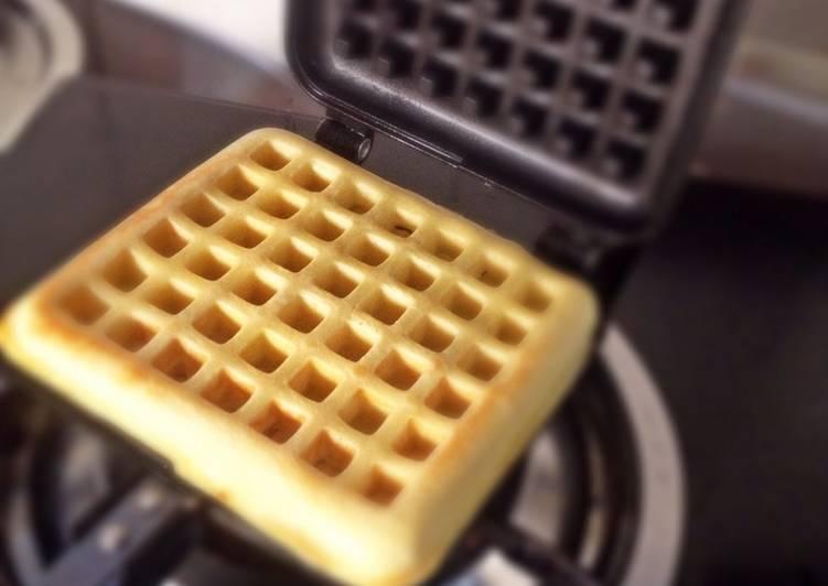 Resep Waffle Ala Aw Oleh Rindaags Dapurpincess Cookpad