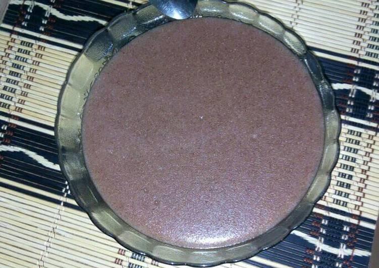 Steps to Prepare Homemade Sour porridge