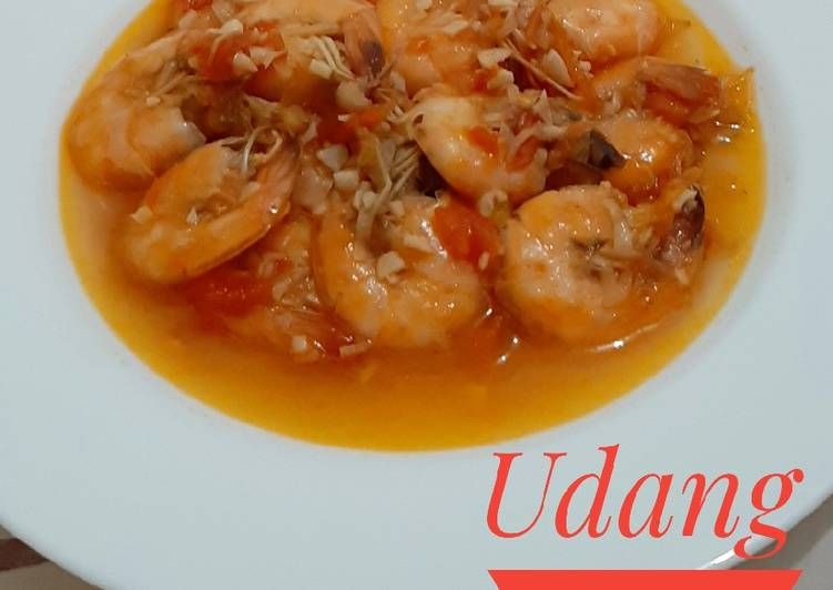 Udang Asam Manis - cookandrecipe.com