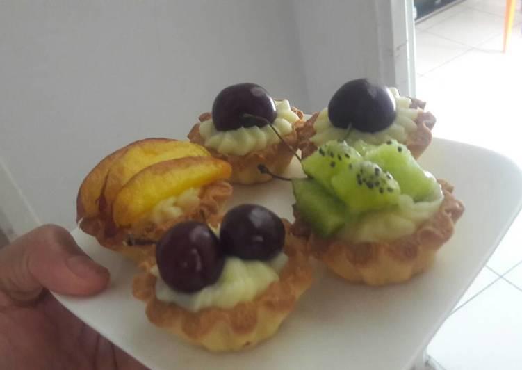 Mini tartelettes aux fruits