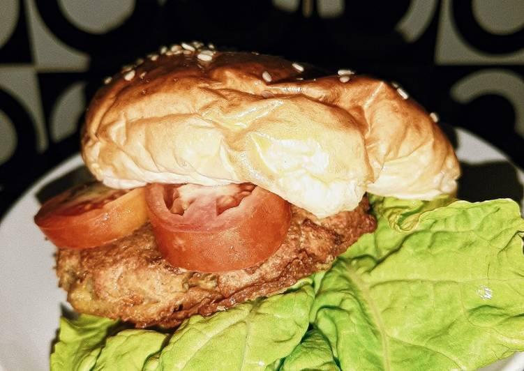 Burger Vegetarian Dari Tempe