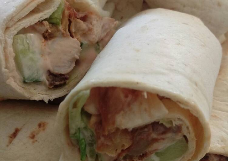 Recipe of Ultimate Chicken wraps