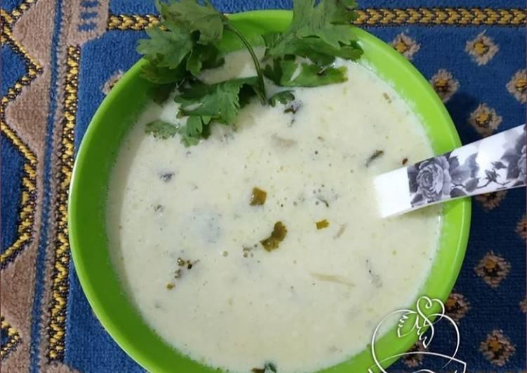 Recipe of Super Quick Homemade Curd Shorba