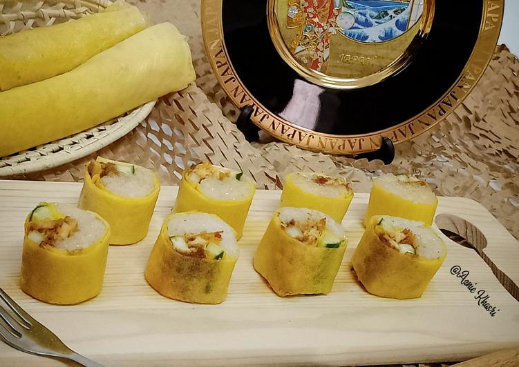 Sushi Pulut Rendang Ayam - velavinkabakery.com