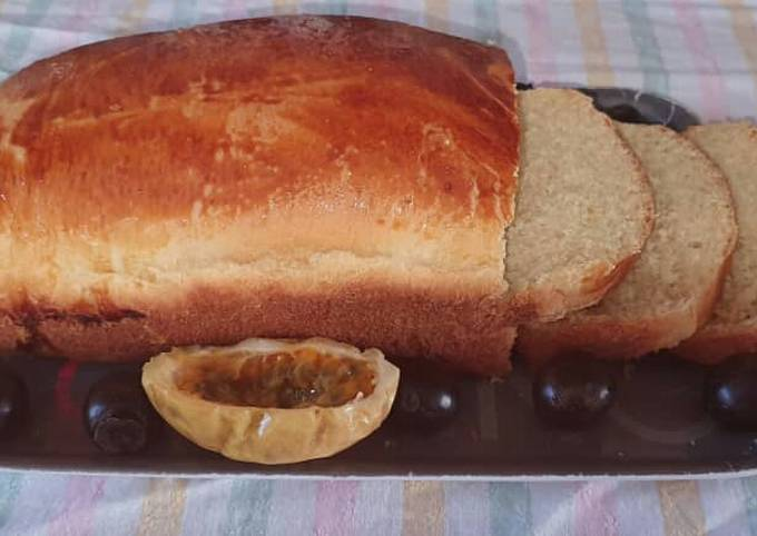 Soft and Buttery Milk and Yoghurt Bread Recipe