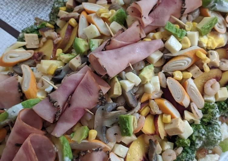 Recipe of Super Quick Homemade Pescador Salad