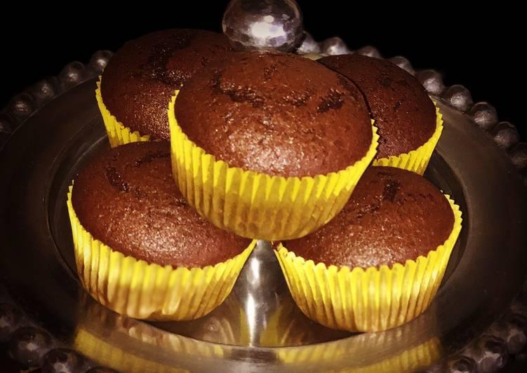 Simple Way to Prepare Quick Chocolate Cupcakes