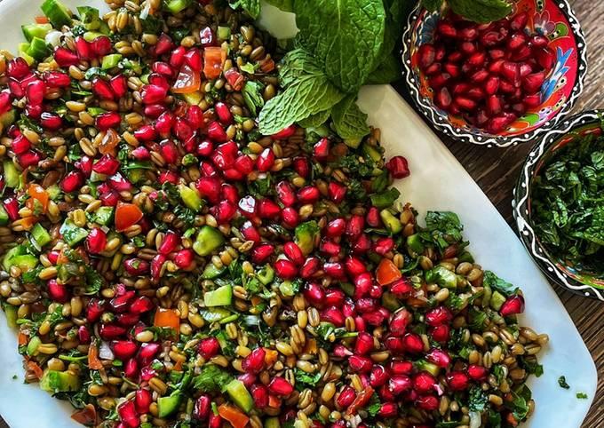 Easiest Way to Make Appetizing Freekeh salad