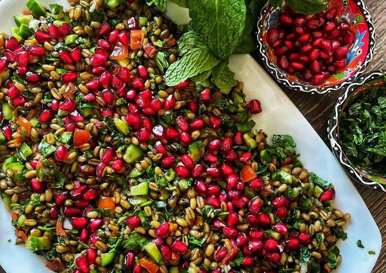 Recipe of Ultimate Freekeh salad