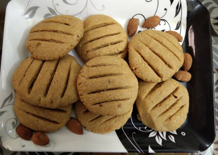 How to Prepare Super Quick Homemade Wheat flour jaggery cookies