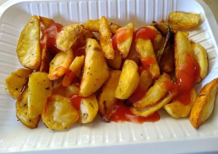Baked potato chip's#favoritekidsrecipe