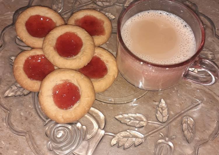 Advice to Produce Yummy Strawberry Thumbprint Cookies