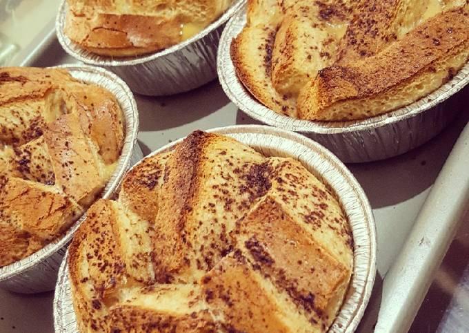 Coffee Choco Granules Bread Pudding