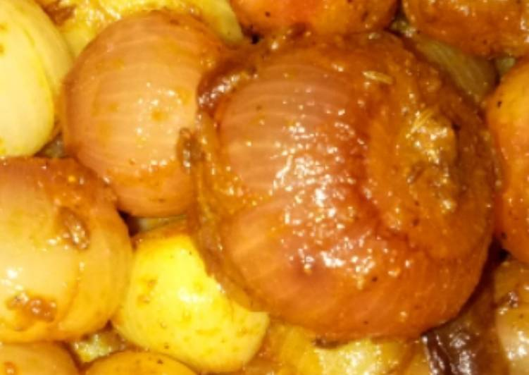 Recipe of Super Quick Homemade Stuffed onion